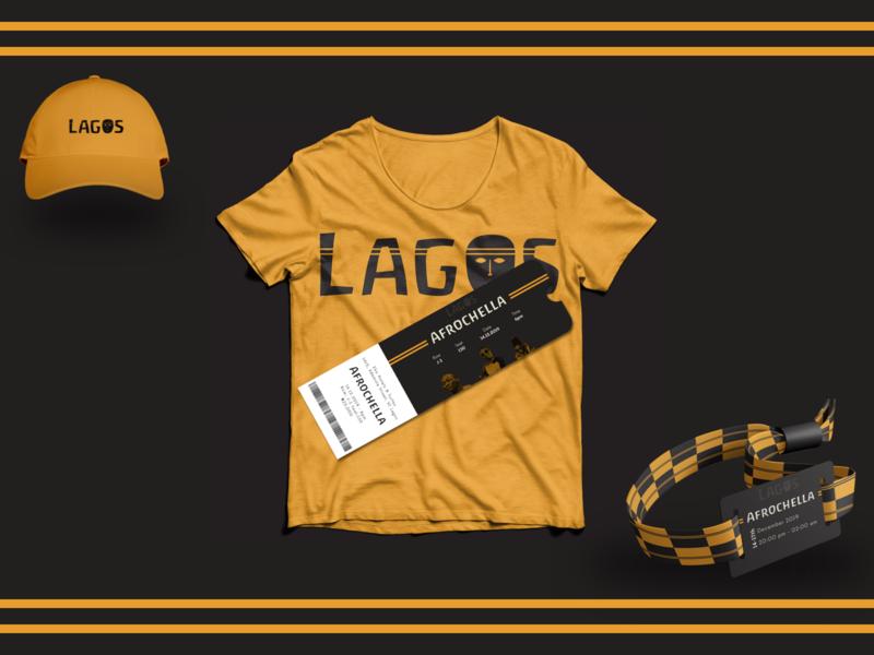 Branding Materials for Lagos Tourism Campaign app vector design ui colors clean brand identity branding brand