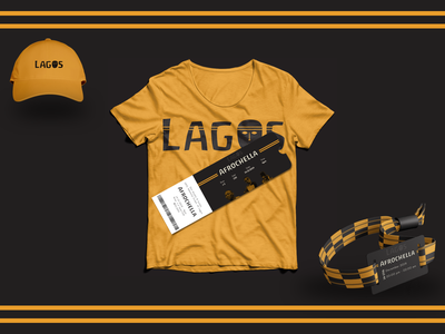 Branding Materials for Lagos Tourism Campaign app vector design ui colors clean brand identity branding brand