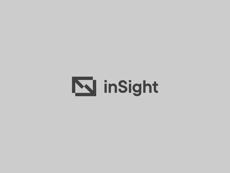 inSight minimal bank branding logo logotype letter s monogram symbol arrow exchange bitcoin trade economics