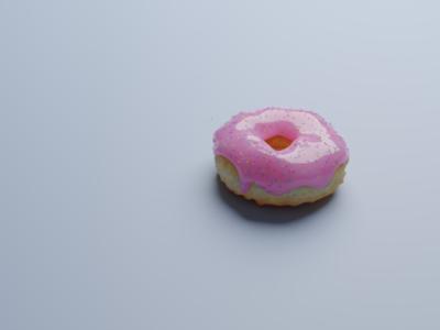 First donut render illustration sprinkle work 3d donut blender