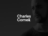 Charles Cornell logo design simple clean youtuber youtube jazz minimal piano logo