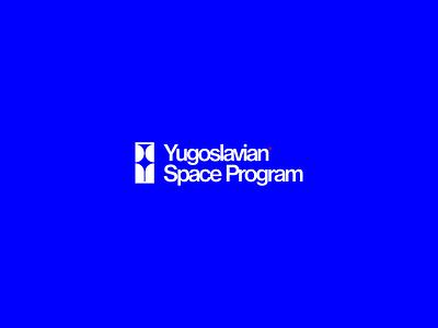 Yugoslavian Space Program monogram clean type design typography symbol human minimal shooting galaxy star logotype logo nasa space