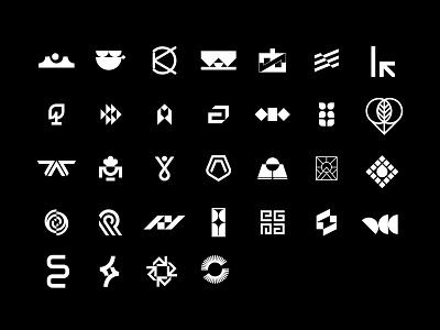 32 logos from 2020 vector clean symbol type simple design typography logodesign collection logo design minimal logotype logo