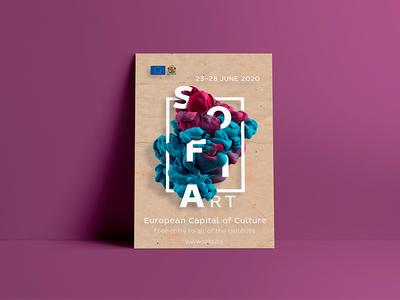 Sofia event poster template.