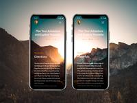 National Park Services Concept App