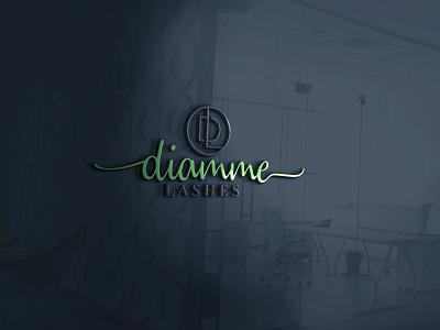 DL 3d logo design  logo illustration illustration logo design