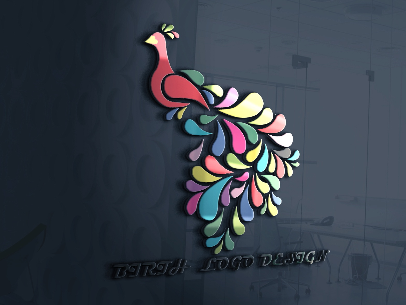 Birth Logo illustration design logo