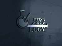Biology logo design