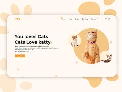Katty | DAY 01 design ux uxui web