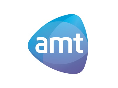 New Brand for AMT brand identity logo