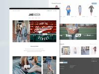 Jane Hudson homepage