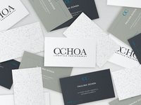 Ochoa Photography Business Cards