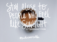 Quotes Over Coffee - August 27, 2018