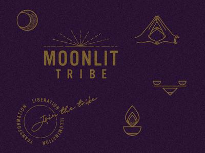MoonLIT Tribe branding