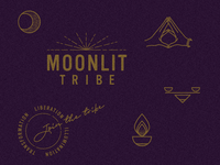 MoonLIT Tribe branding