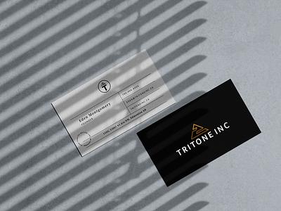 Tritone INC logotype real estate branding design identity design brand design logo typography icon design identity branding
