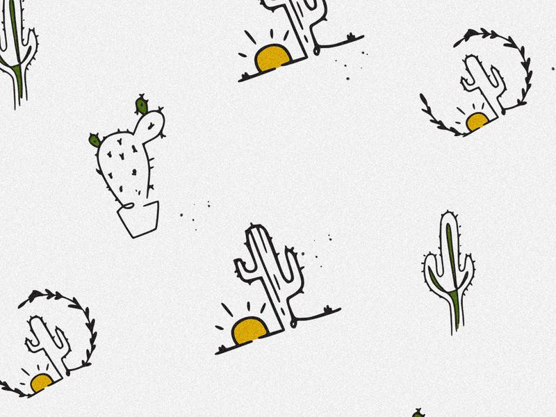Cactus boop icon apparel design plant illustration plants illustration cactus