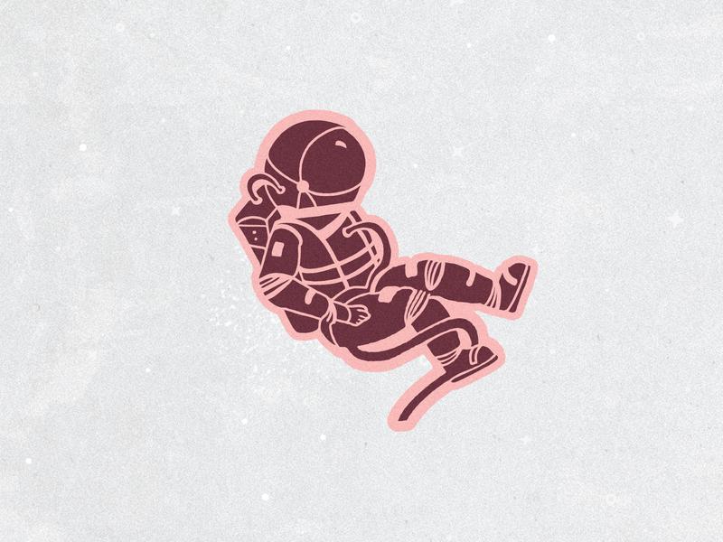 Space case procreate ipadpro design art astronauts identity brand design coffee brand coffee branding illustration space astronaut