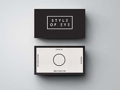 SOE logo name identity music minimal black business card graphic design branding logotype