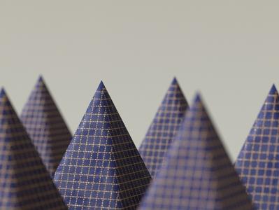 Pattern on Pyramid