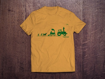 #IAmFarmer Campaign T-Shirt in Yellow