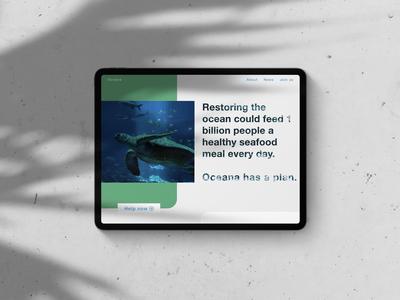 Oceana Tablet View