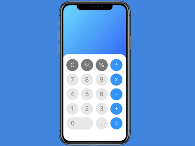 Daily UI #4: Calculator redesign