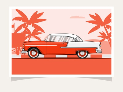 Classic Car |  Chevrolet Bel Air Coupe