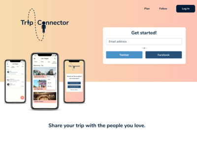 Homepage- Trip Connector