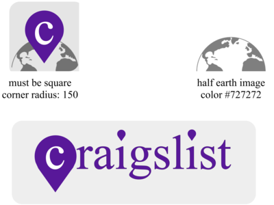 Craigslist Rebrand