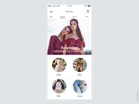 DailyUI 0012 Challenge E-commerce App