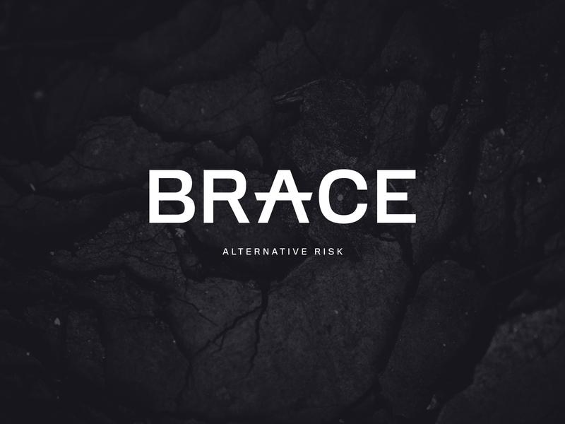 Brace alternative risk website design print design logo website branding insurance
