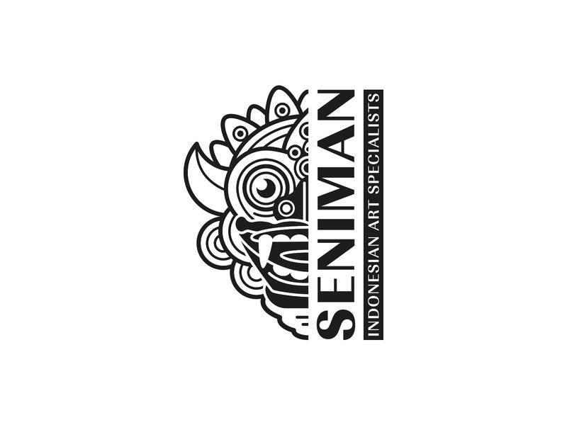 Seniman art supplier art specialist branding logo indonesian balinese
