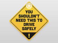 Car Sign - Parody