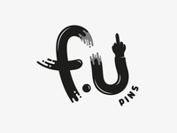 F U Pins - Logo Design