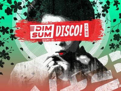 Dim Sum Disco! Branding restaraunt oriental brunch branding