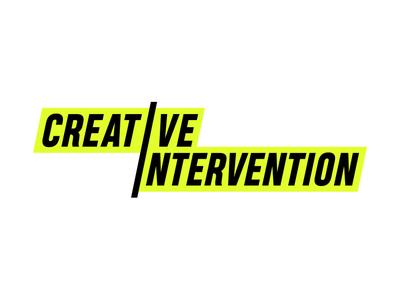 Creative Intervention - Logo logo a day logo 3d freelance brand intervention neon vector logo