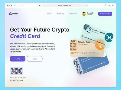 BitWallet 💳 bitcoin crypto app ui ux design
