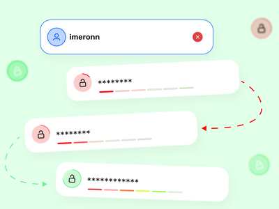 Input Password Patterns🔒 design system patterns lock web mobil design ux ui password input