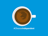 Coffee Cup - Choose Independent Illustration