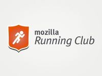 Mozilla Running Club Logo