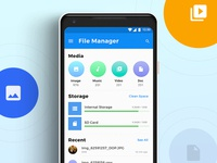 Files Android Concept