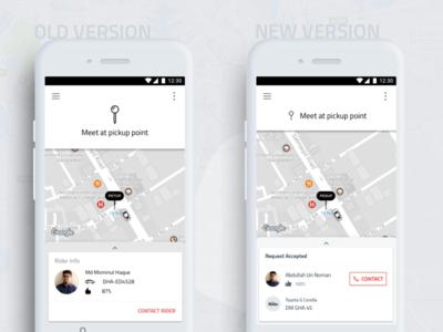 Revamp of Pathao Rides [Teaser] app ux bangladesh pathao typography ridesharing ui