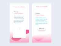 Design Dribbble Cards for Instagram Highlight