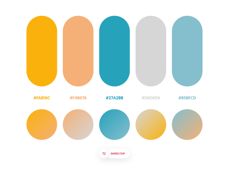 Dopely Colors #72 colours mrpugo.dopely palette palettes colors colorpalette