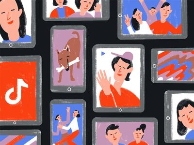 Tik Tok app video phone devices app tiktok