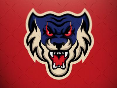 Hell Cat Mascot Logo