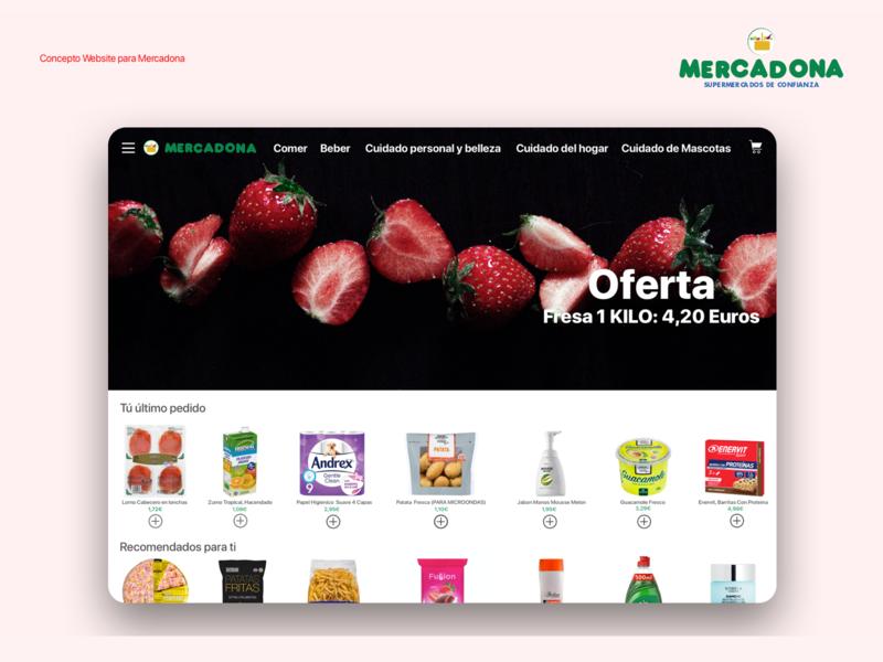 Mercadona website