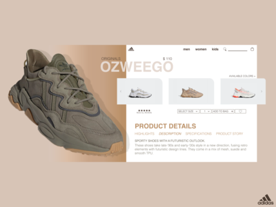 Adidas Ozweego Concept