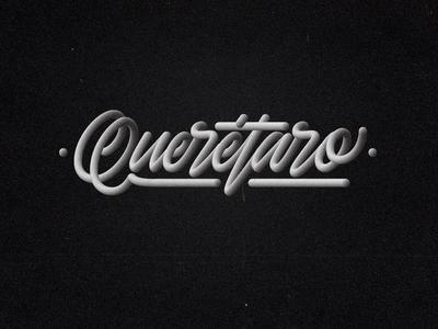 Querétaro - Lettering